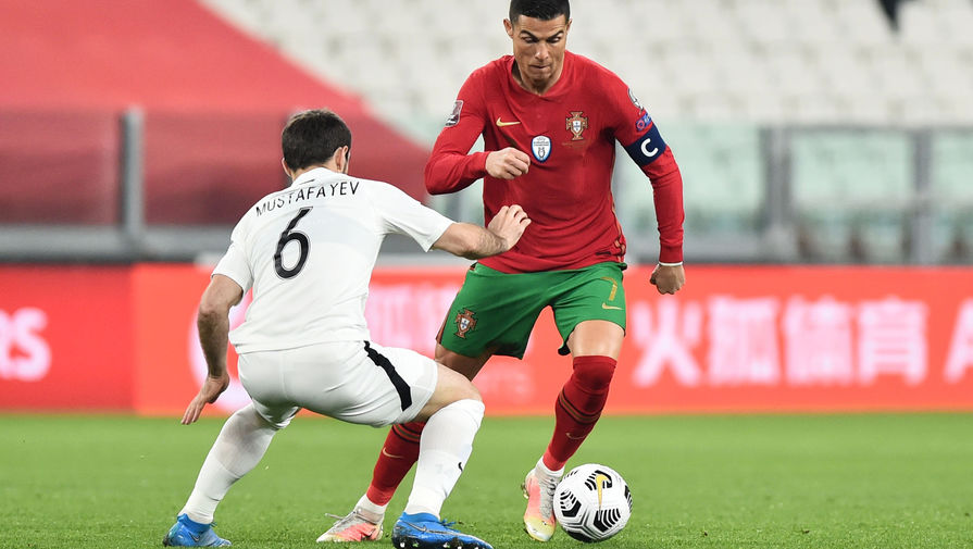 Эпизод матча Португалия — Азербайджан