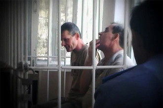 Летчики Владимир Садовничий и Александр Руденко