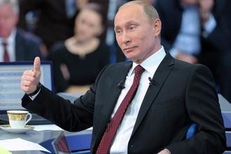 Путина спросили и про свист, и про мат