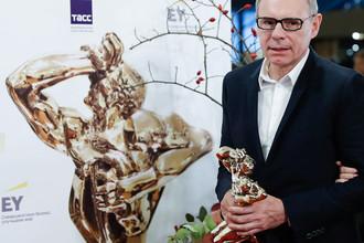 Телеведущий Игорь Прокопенко после церемонии вручения премии «ТЭФИ- 2017»