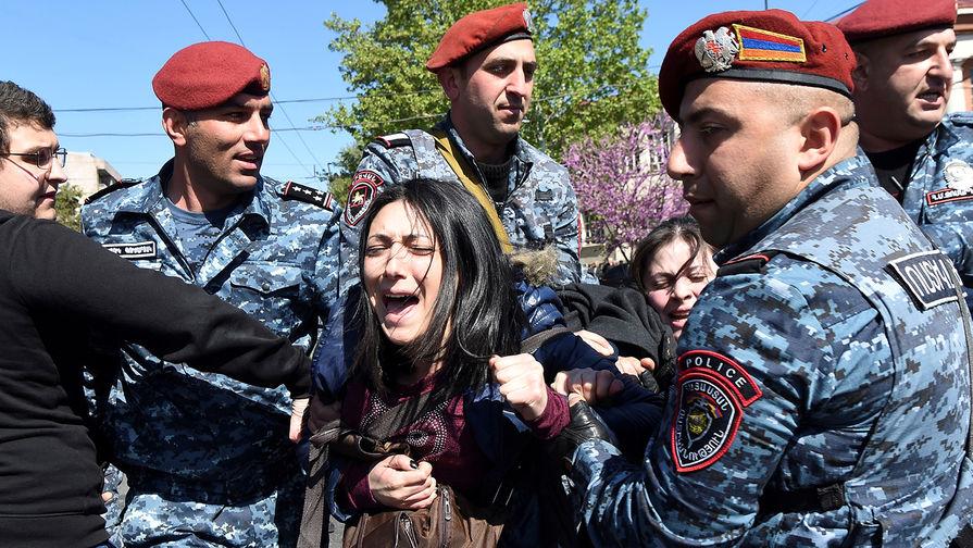Трагедия армянского протеста