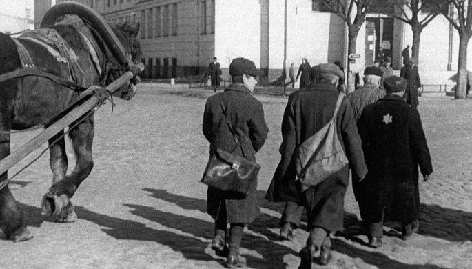 Рижское гетто, январь 1942 года