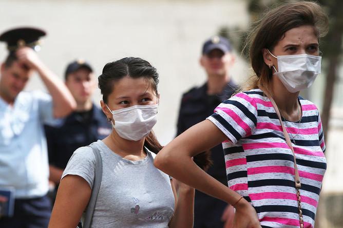 Жители города Армянск, 4 сентября 2018 года