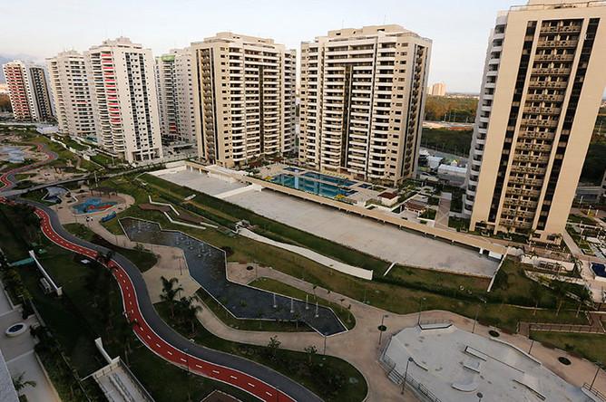 Олимпийская деревня включает комплекс из 31 здания