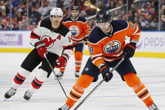 «Эдмонтон» победил «Нью-Джерси» в матче НХЛ