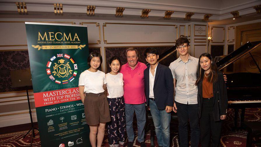 Европейский фонд поддержки культуры представляет Академию классической музыки в Дубае