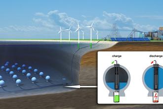 Европа закачивает энергию под воду