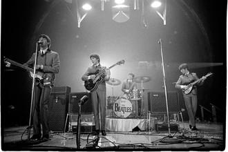 The Beatles, первый концерт в Вашингтоне, 1964 год