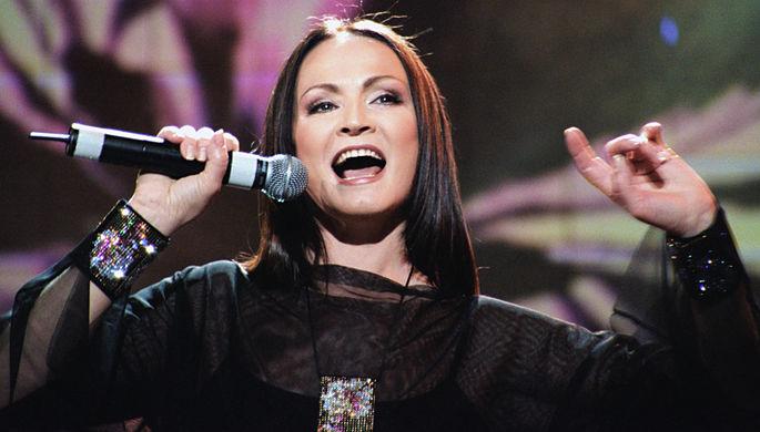 2003 год. Сольный концерт Софии Ротару в Москве