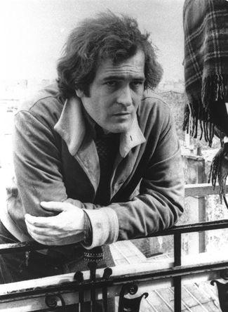 Режиссер Бернардо Бертолуччи в Париже, 1972 год