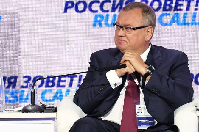 Президент- председатель правления банка ВТБ Андрей Костин