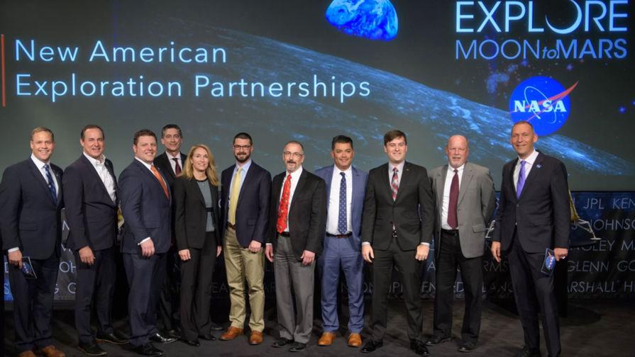Для полетов к Луне в NASA отобрали девять частников