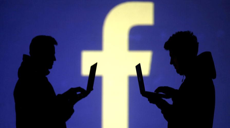 Facebook удалил изображение со свастикой на гербе