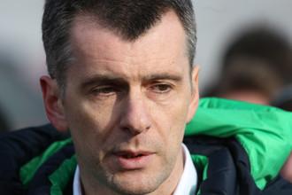 Глава СБР Михаил Прохоров не собирается возвращать должность главного тренера сборной