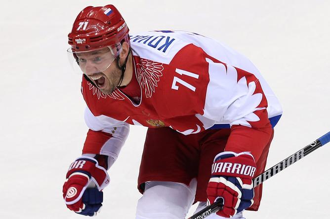 Илья Ковальчук (хоккей, СКА) — 6-е место