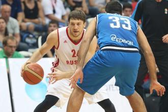 Сборная России уступила итальянцам в квалификации Евробаскета