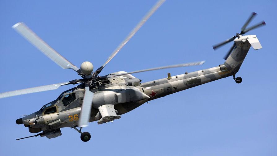 Фото вертолет боевой