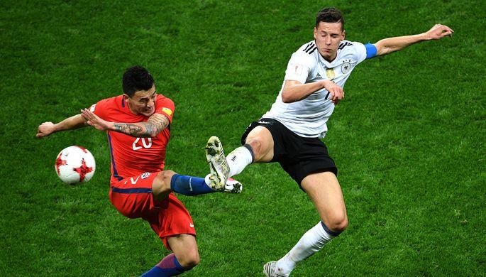Сборные Германии и Чили сразятся в финале Кубка конфедераций — 2017 в России