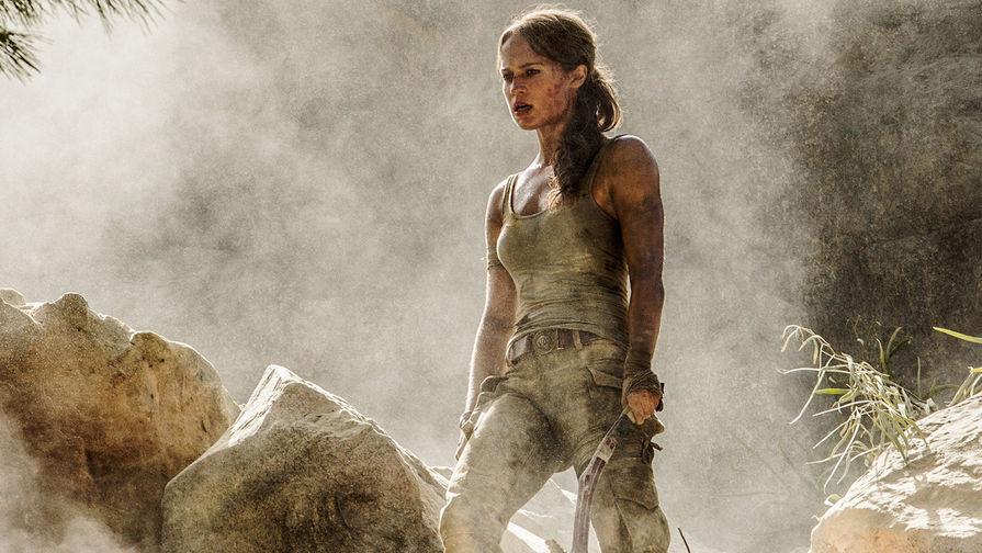 Алисия Викандер в фильме «Tomb Raider: Лара Крофт» (2018)