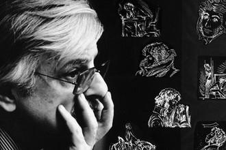 Кинорежиссер Марлен Хуциев в период работы над фильмом «На пути к Пушкину», 1981 год