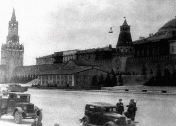 Маскировка мавзолея в годы Великой Отечественной войны