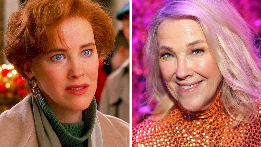 Кэтрин О'Хара в роли мамы Кевина Кейт в 1990 году и Кэтрин О'Хара в 2020 году