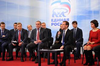 Дмитрий Медведев провел встречу с представителями бизнес-сообщества
