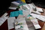 Письма луганским ополченцам, написанные тюменскими школьниками