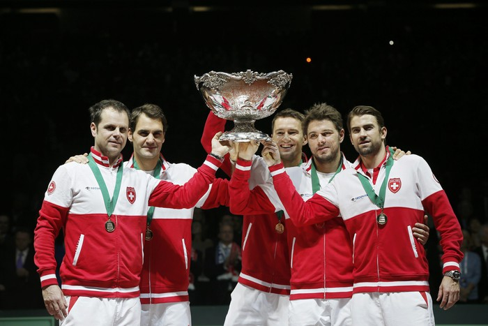 Швейцария завоевала Кубок Дэвиса