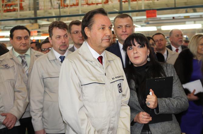 Президент «АвтоВАЗа» Бу Андерссон
