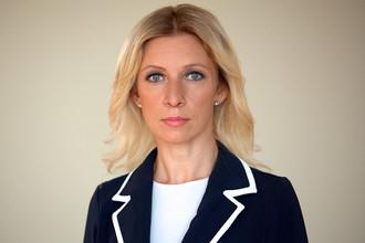 Новый официальный представитель МИД РФ Мария Захарова
