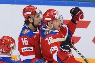 Сборная России отлично провела стартовый матч Кубка Первого канала