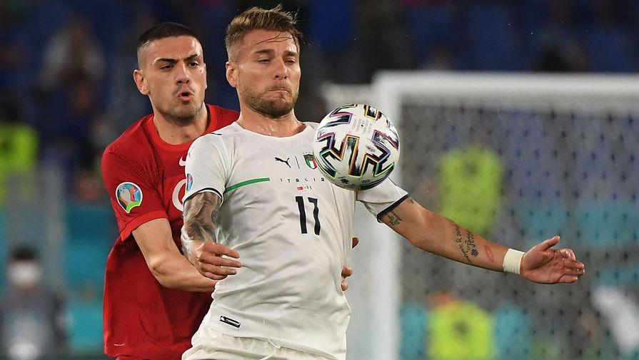 Италия оформила крупнейшую победу для матча-открытия чемпионата Европы