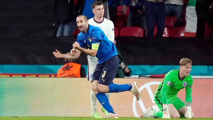Капитан Италии Кьеллини трогательно обратился к болельщикам после победы на Евро-2020