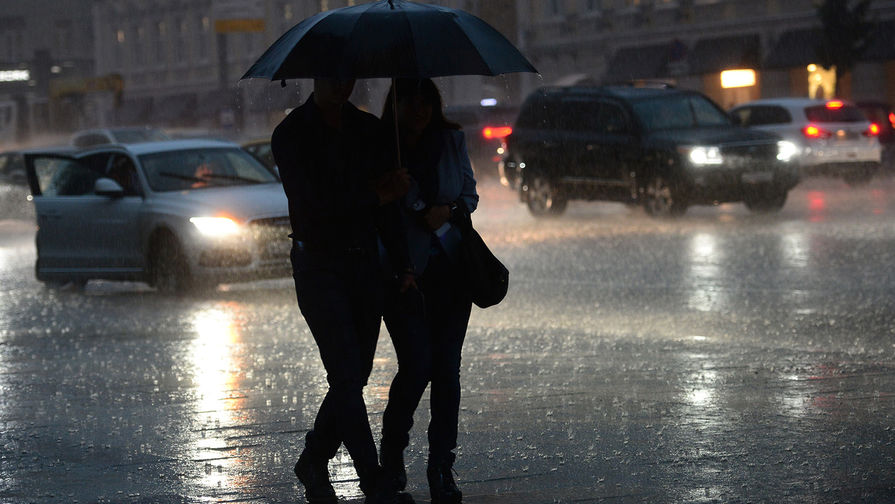 Еще не осень: Москву ждут ливни и похолодание