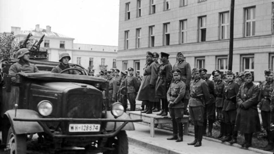 Немецкие войска, 1939 год