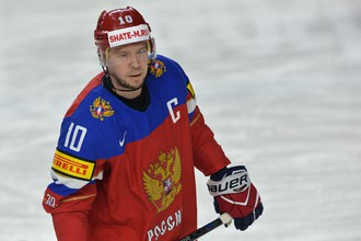 Капитан сборной России Сергей Мозякин получил травму на чемпионате мира в матче против Германии