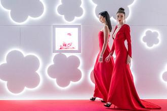 Модели на стенде Pasquale Bruni на выставке BaselWorld-2018