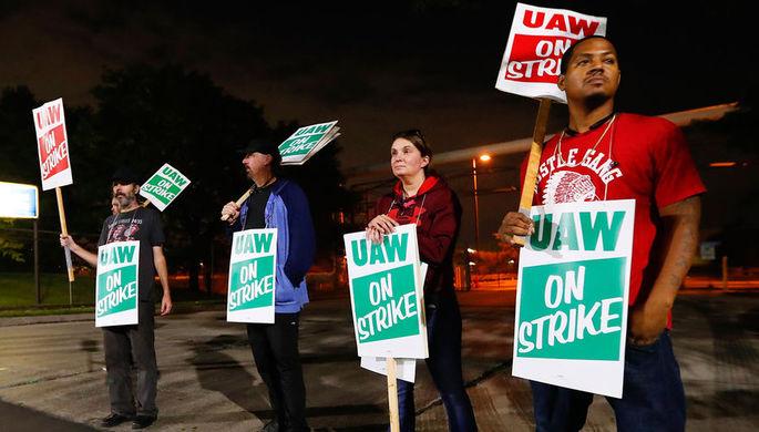 Бунт рабочих: Детройт охватили массовые забастовки
