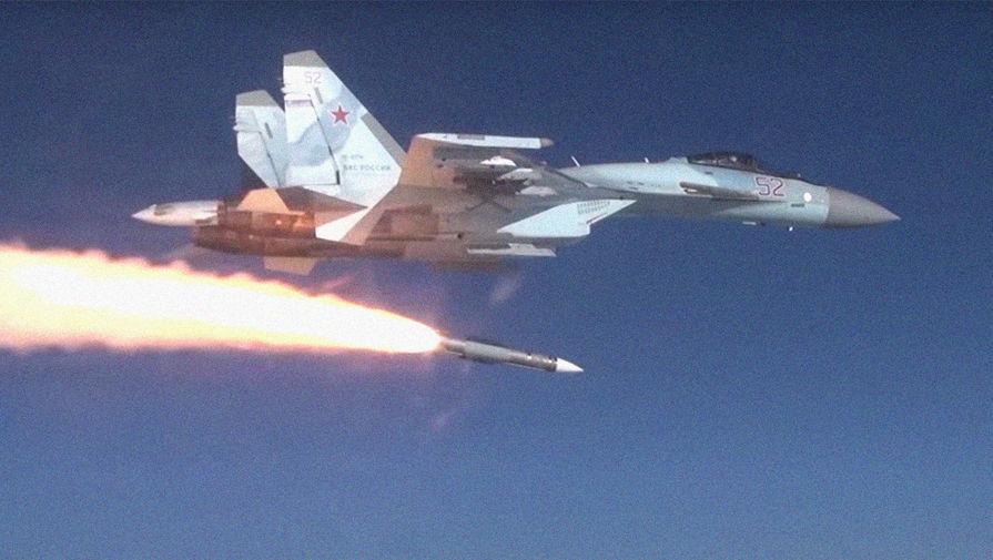 Р-37М: пуск новой российской ракеты впервые попал на видео