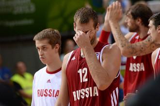 Сборная России по баскетболу потерпела 4 поражение подряд