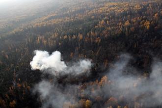 Московский дым исследовали на радиацию