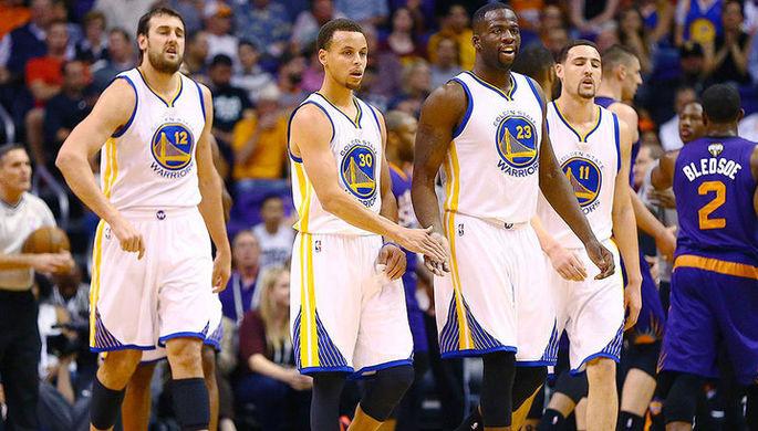 Баскетболисты «Голден Стэйт»
