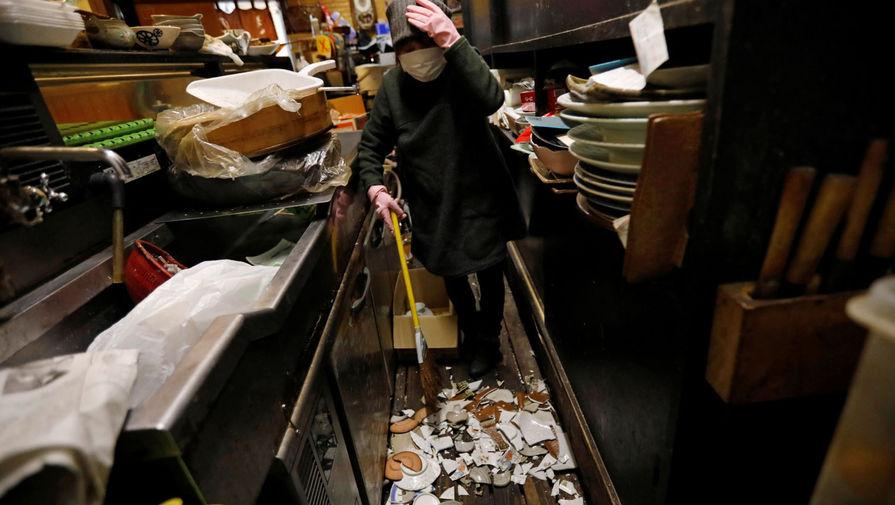 Повторное землетрясение магнитудой 5,2 произошло в Японии