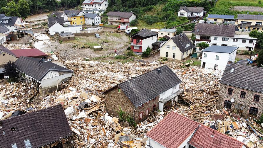 Число погибших из-за наводнений в Германии увеличилось до 70 человек