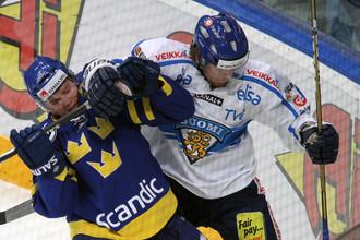 Сборная Финляндии обыграла шведов на Кубке Первого канала