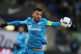 Португальский полузащитник Мигел Данни покидает «Зенит»