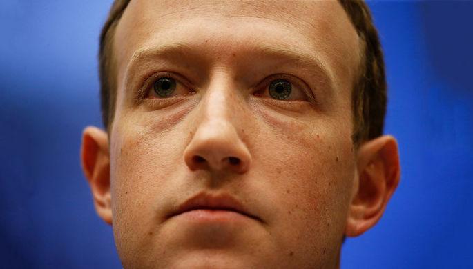 Основатель Facebook Марк Цукерберг во время конференции F8 в Сан-Хосе, Калифорния, 1 мая 2018 года