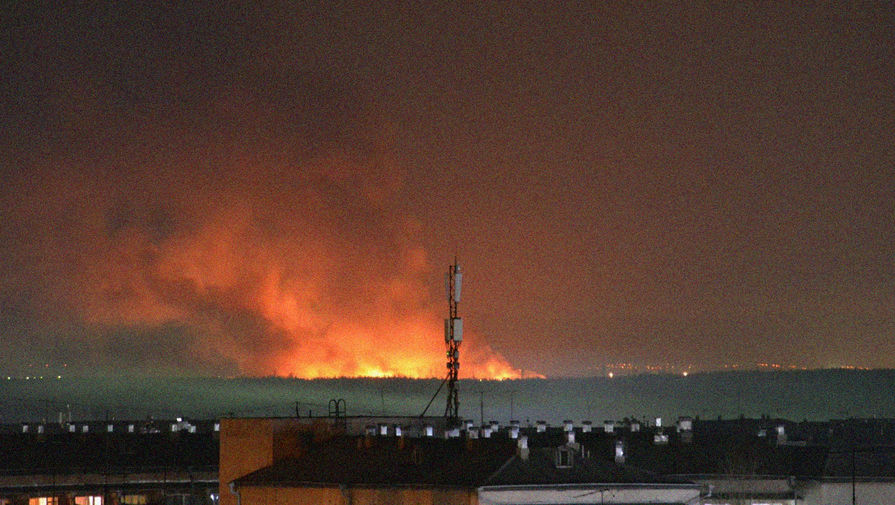 Пожар в ИК-15 в Иркутской области, 10 апреля 2020 года