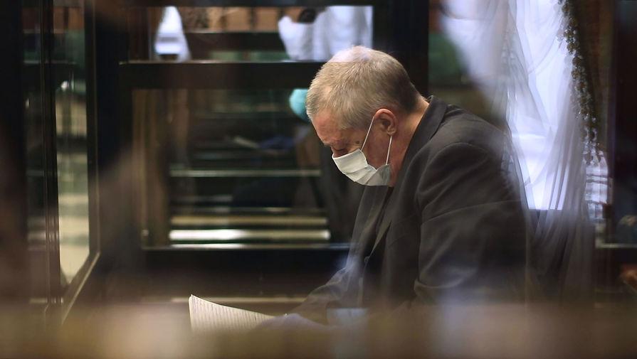 Михаил Ефремов в зале заседаний Московского городского суда, 22 октября 2020 года